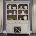 Liberty Furniture Farmhouse Reimagined Hutch & Buffet  - Item Number: 652-DR-HB