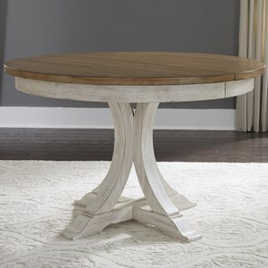 Liberty Furniture Farmhouse Reimagined Pedestal Table