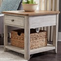Liberty Furniture Farmhouse Reimagined End Table - Item Number: 652-OT1020