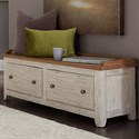Liberty Furniture Farmhouse Reimagined Bench - Item Number: 652-OT47