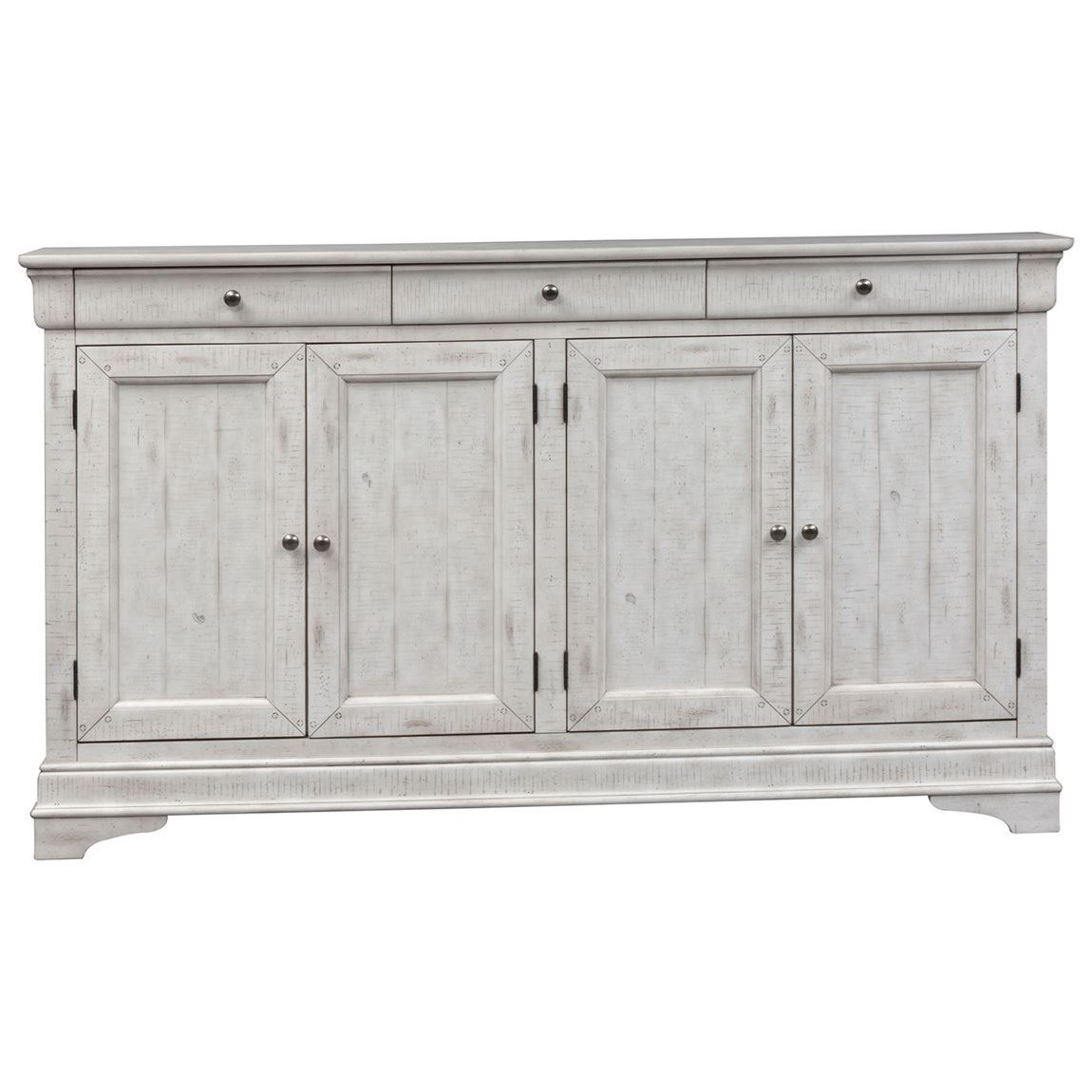 Gentry 4 Door Accent Cabinet by Liberty Furniture at Northeast Factory Direct