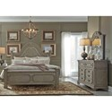 Liberty Furniture Grand Estates King Bedroom Group - Item Number: 634-BR-KPBDM