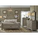 Liberty Furniture Grand Estates King Bedroom Group - Item Number: 634-BR-KPBDMC