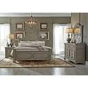 Liberty Furniture Grand Estates King Bedroom Group - Item Number: 634-BR-KPBDMN
