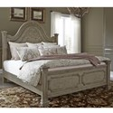 Liberty Furniture Grand Estates Queen Panel Bed - Item Number: 634-BR-QPB