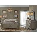 Liberty Furniture Grand Estates Queen Bedroom Group - Item Number: 634-BR-QPBDM