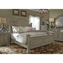 Liberty Furniture Grand Estates Queen Bedroom Group - Item Number: 634-BR-QPBDMCN