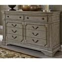 Liberty Furniture Grand Estates Dresser - Item Number: 634-BR32
