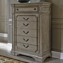 Liberty Furniture Grand Estates Chest of Drawers - Item Number: 634-BR41