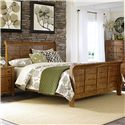 Liberty Furniture Grandpa's Cabin Queen Sleigh Bed - Item Number: 175-BR-QSL