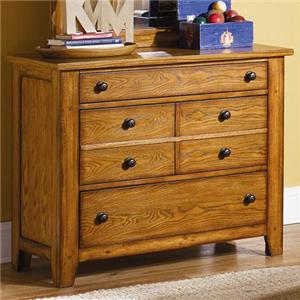Liberty Furniture Grandpa's Cabin Three Drawer Dresser