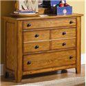 Vendor 5349 Grandpa's Cabin Three Drawer Dresser - Item Number: 175-BR30