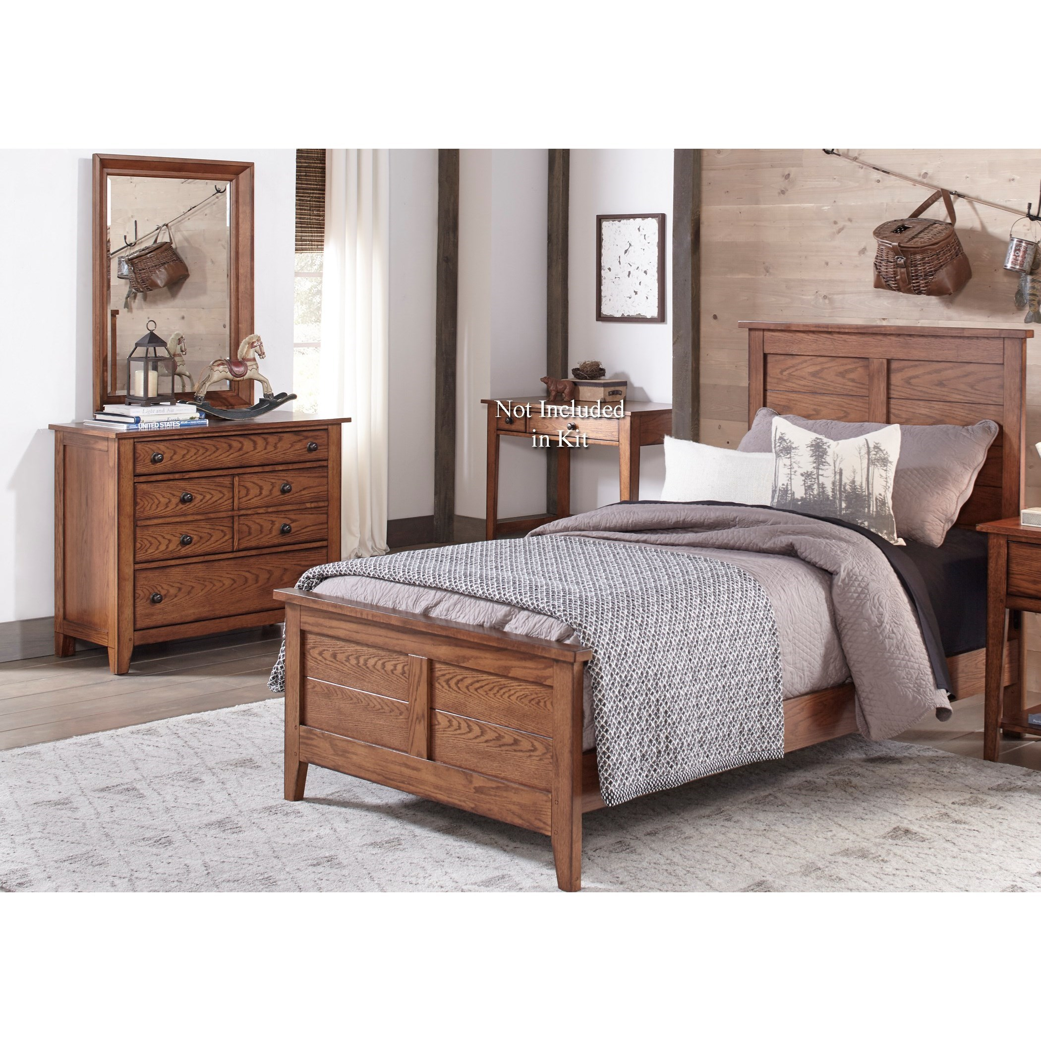 Grandpa's Cabin Twin Bedroom Group by Liberty Furniture at Northeast Factory Direct