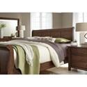 Liberty Furniture Grandpa's Cabin Queen Bedroom Group - Item Number: 375-BR-QSLDMN