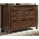Liberty Furniture Grandpa's Cabin 3 Drawer Dresser - Item Number: 375-BR30