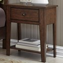 Liberty Furniture Grandpa's Cabin Night Stand - Item Number: 375-BR60