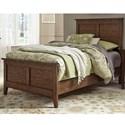 Liberty Furniture Grandpa's Cabin Full Panel Bed  - Item Number: 375-YBR-FPB