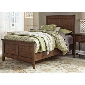 Liberty Furniture Grandpa's Cabin Twin Panel Bed