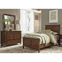 Liberty Furniture Grandpa's Cabin Twin Bedroom Group - Item Number: 375-YBR-TPBDM