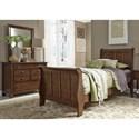 Liberty Furniture Grandpa's Cabin Twin Bedroom Group - Item Number: 375-YBR-TSLDM