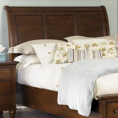 Liberty Furniture Hamilton  King Sleigh Headboard - Item Number: 341-BR22H