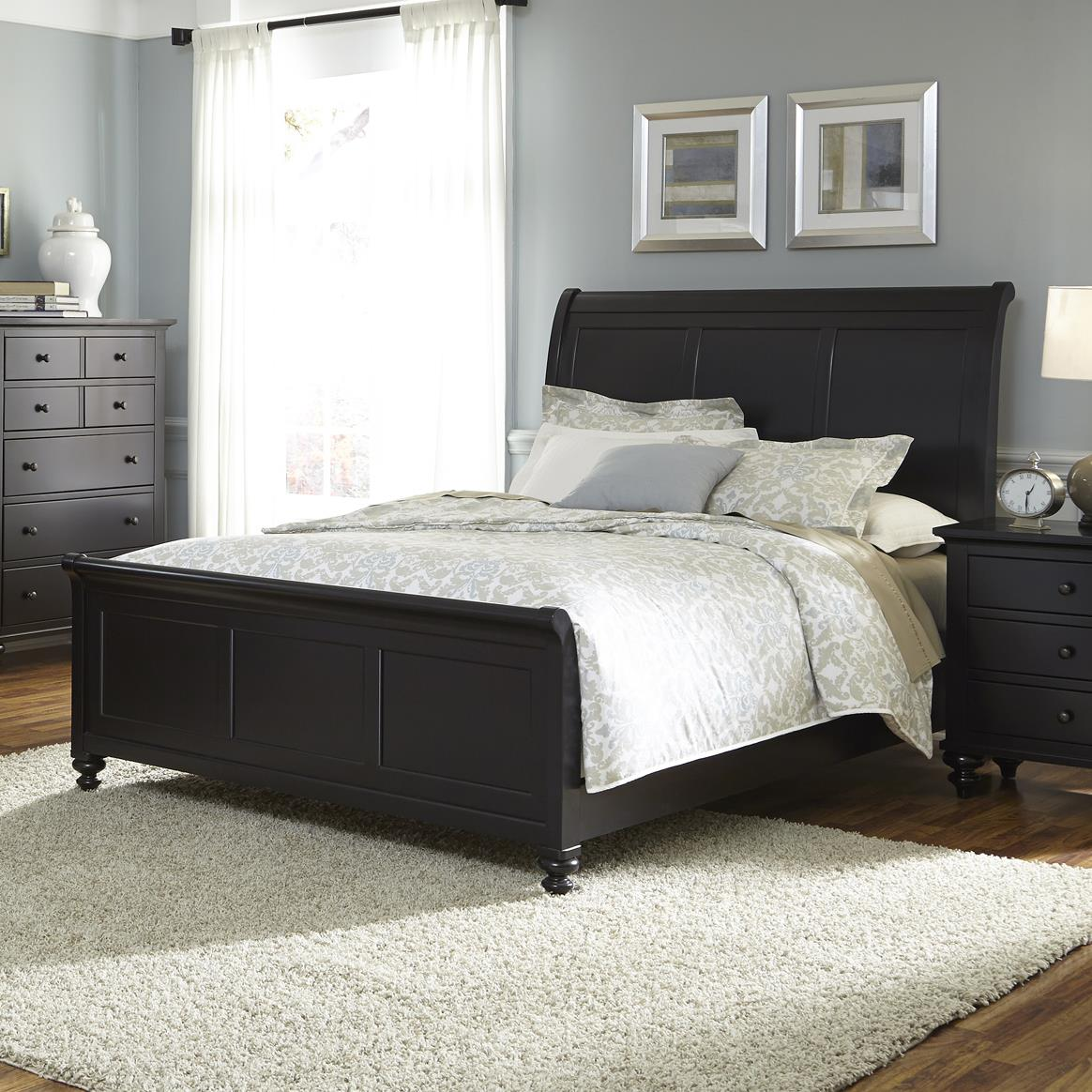 Liberty Furniture Hamilton III Queen Sleigh Bed - Item Number: 441-BR-QSL