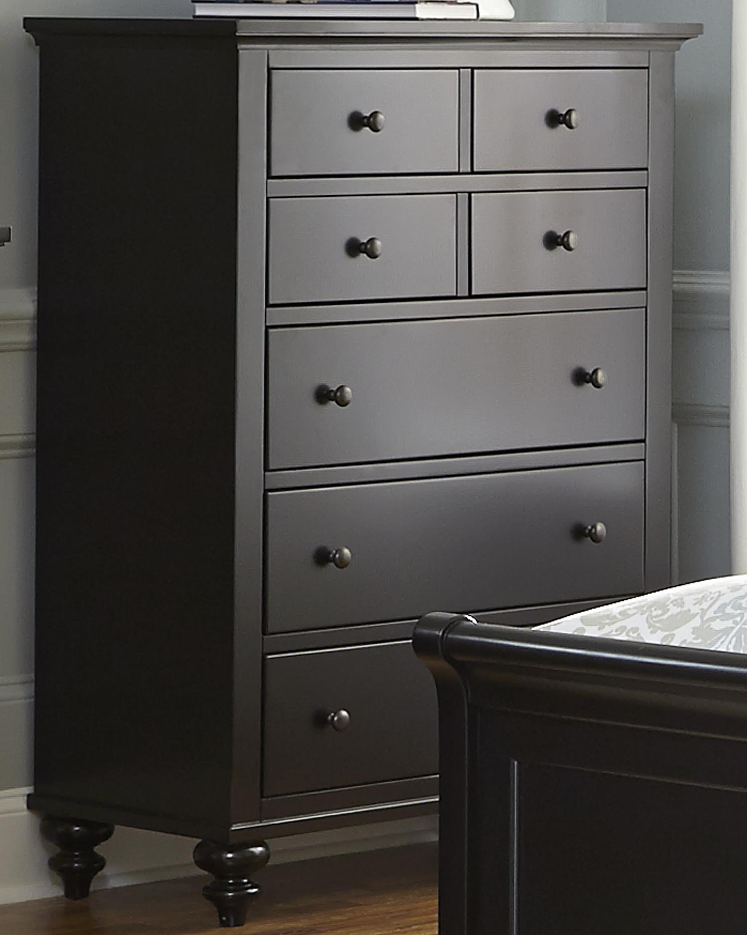 Liberty Furniture Hamilton III Five Drawer Chest - Item Number: 441-BR41