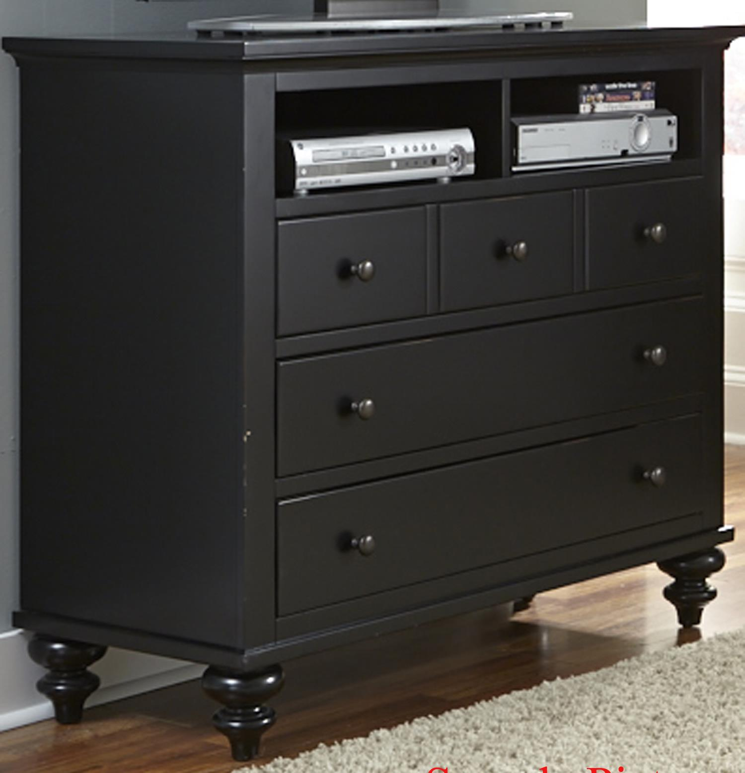 Liberty Furniture Hamilton III Media Chest - Item Number: 441-BR45