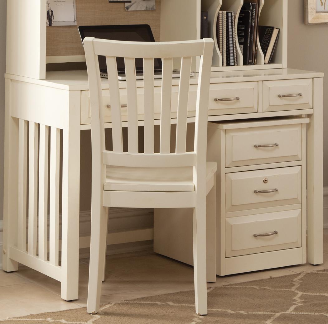 Liberty Furniture Hampton Bay - White Writing Desk - Item Number: 715-HO111
