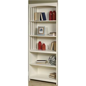 Vendor 5349 Hampton Bay - White Open Bookcase