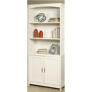 Vendor 5349 Hampton Bay - White Door Bookcase