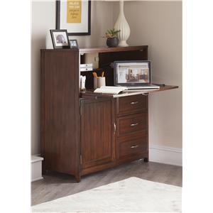 Liberty Furniture Hampton Bay  Computer Cabinet