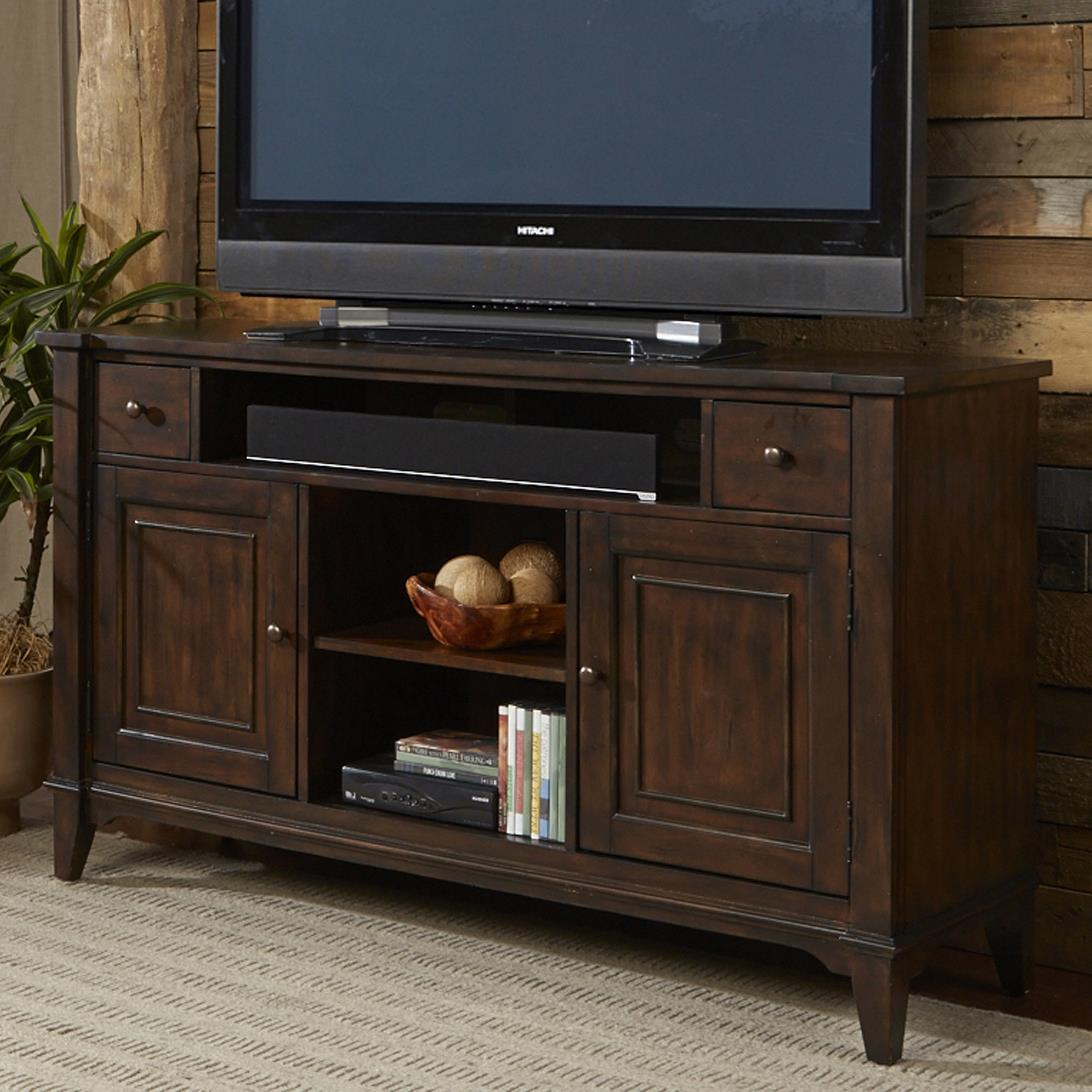Liberty Furniture Harbor Ridge TV Console - Item Number: 285-TV60