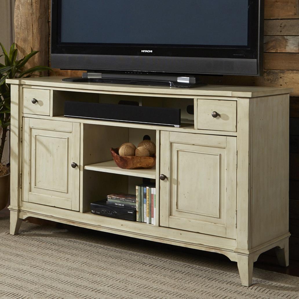 Liberty Furniture Harbor Ridge TV Console - Item Number: 385-TV60