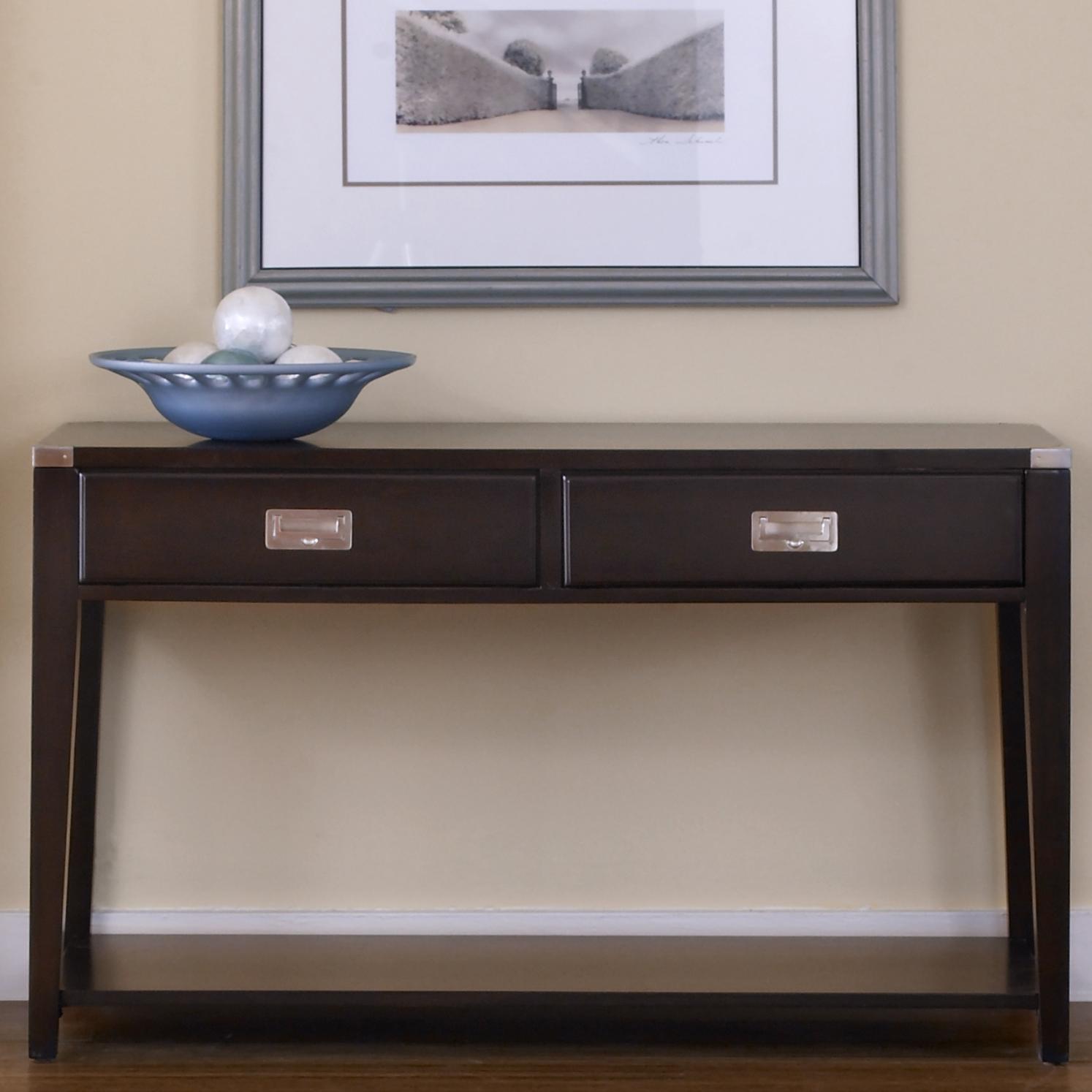 Liberty Furniture Harbor Town  Sofa Table - Item Number: 349-OT1030