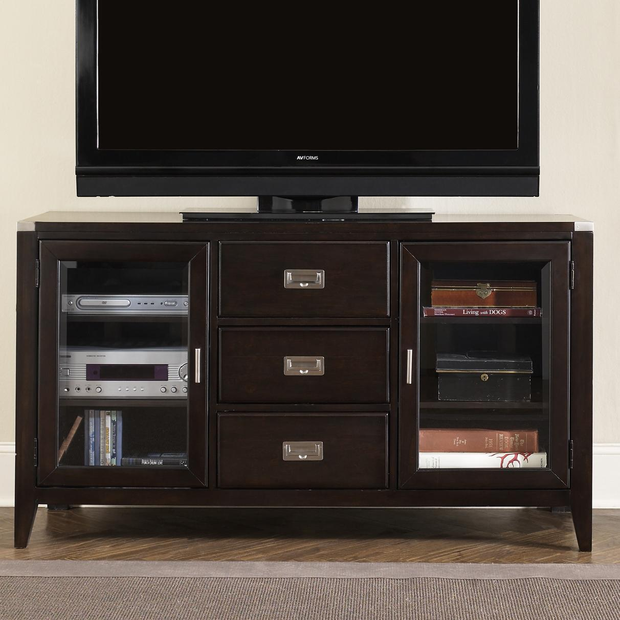 Liberty Furniture Harbor Town  Entertainment TV Stand - Item Number: 349-TV00