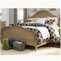 Vendor 5349 Harbor View King Poster Bed with Barley Twist Accents - Item Number: 531-BR-KPS