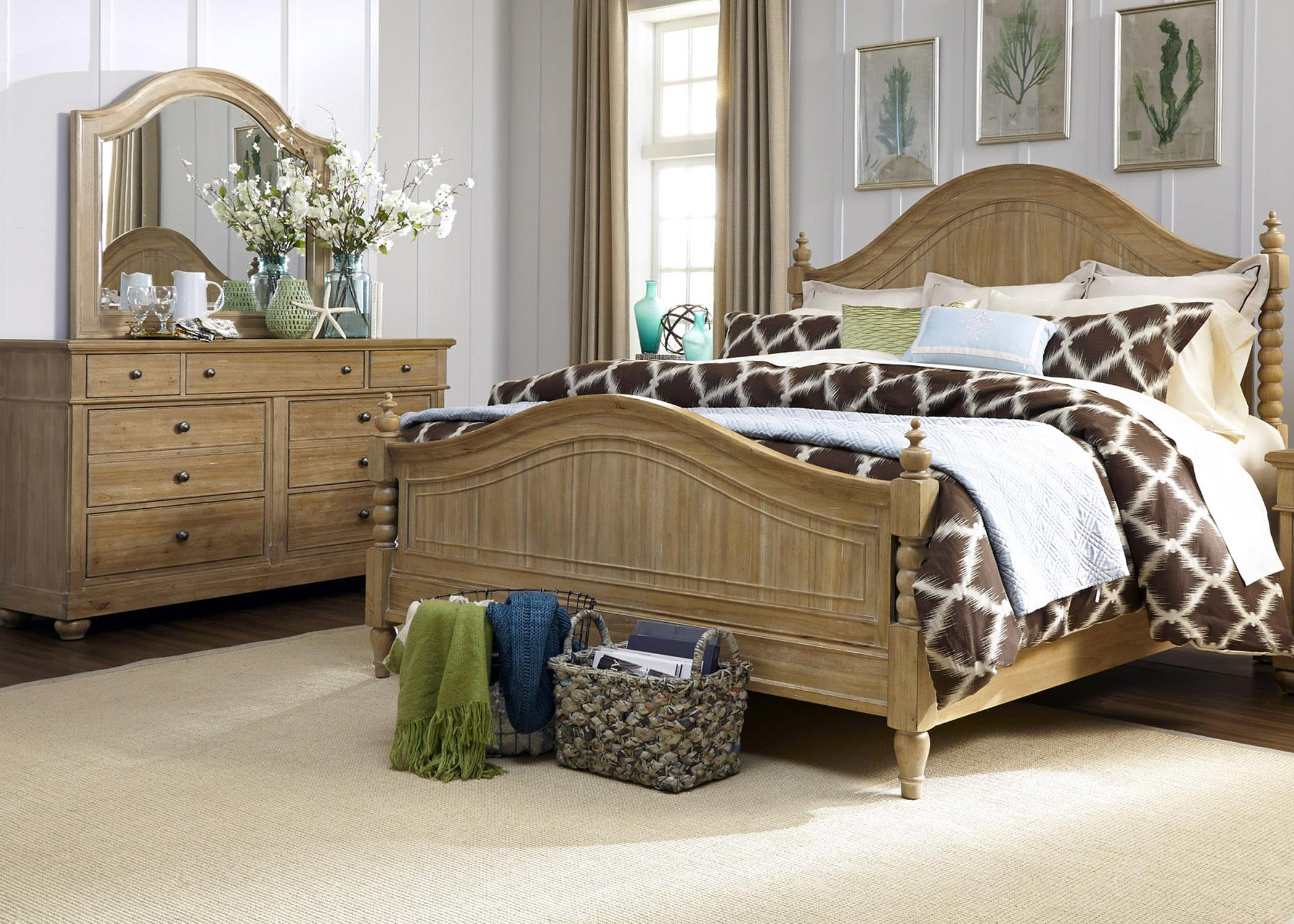 Liberty Furniture Harbor View King Bedroom Group - Item Number: 531-BR-KPSDM