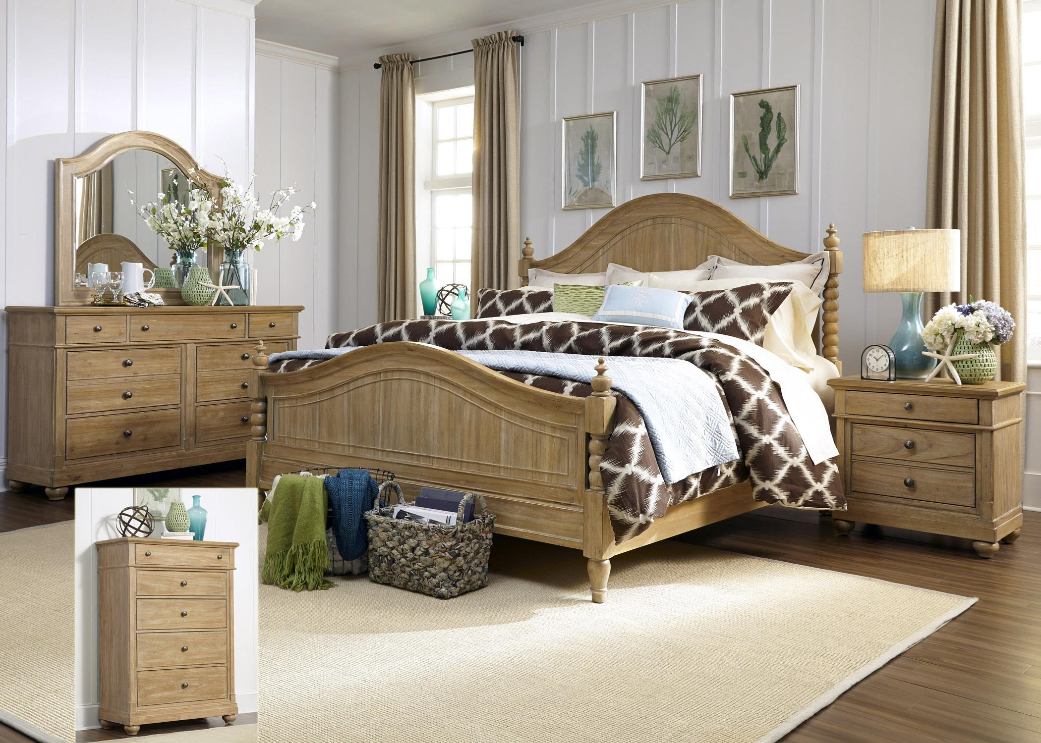 Liberty Furniture Harbor View King Bedroom Group - Item Number: 531-BR-KPSDMCN