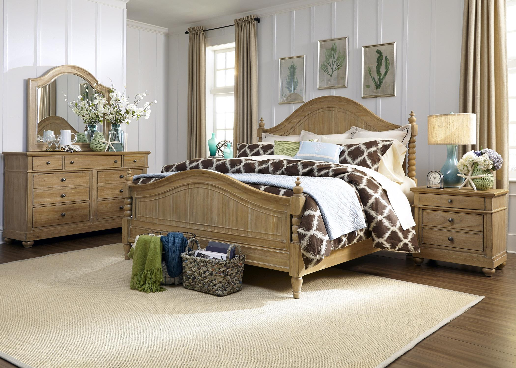 Liberty Furniture Harbor View King Bedroom Group - Item Number: 531-BR-KPSDMN