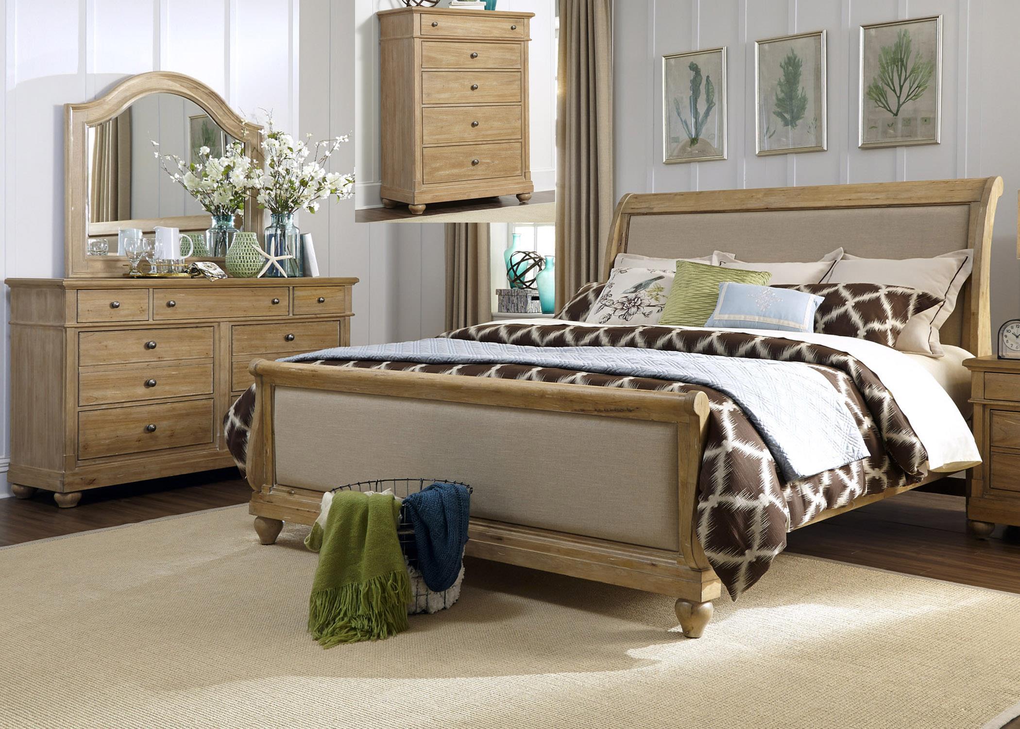 Liberty Furniture Harbor View King Bedroom Group - Item Number: 531-BR-KSLDMC