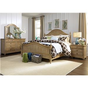 Liberty Furniture Harbor View Queen Bedroom Group