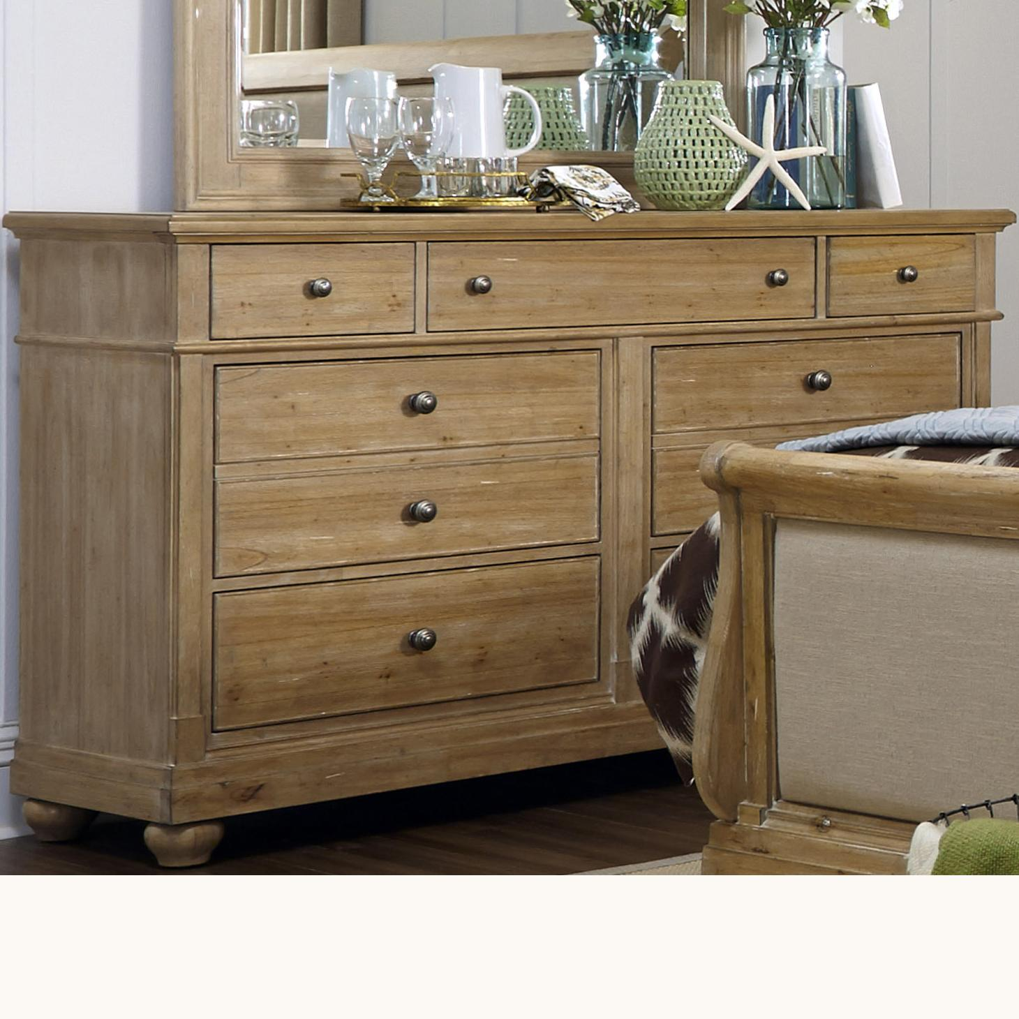 Liberty Furniture Harbor View Dresser - Item Number: 531-BR31