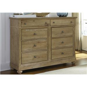 Vendor 5349 Harbor View Dresser with 8 Drawers