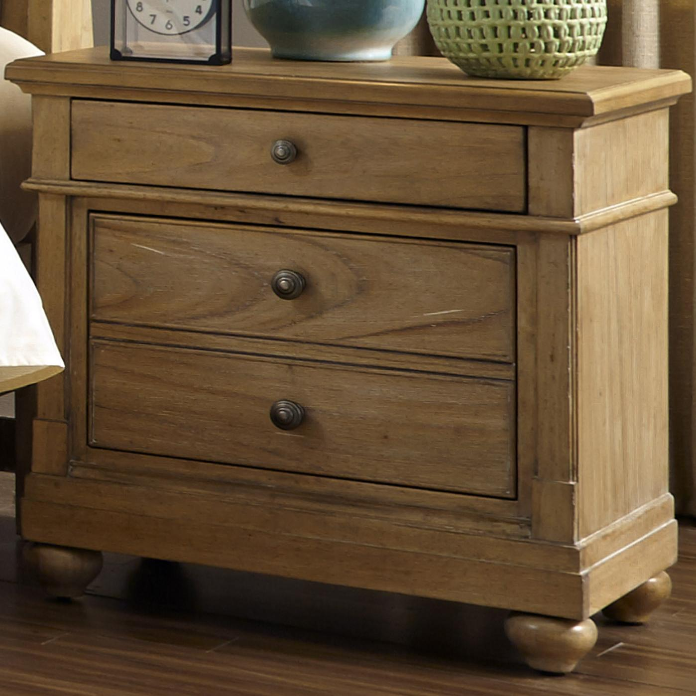 Liberty Furniture Harbor View Night Stand  - Item Number: 531-BR61