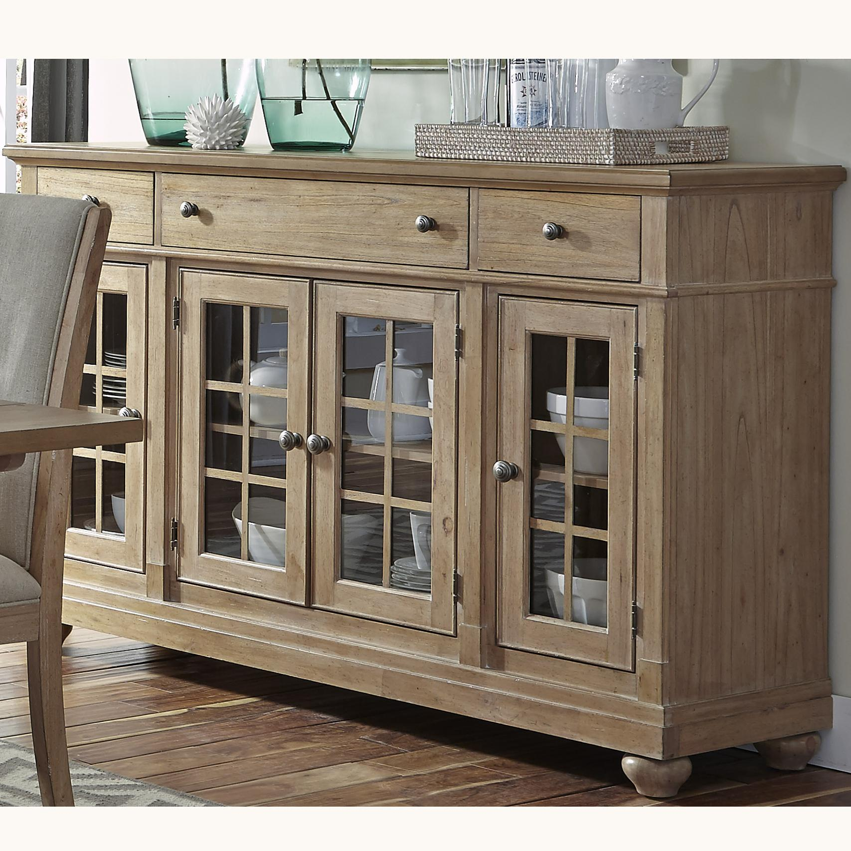 Liberty Furniture Harbor View Buffet - Item Number: 531-CB6642