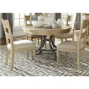 Liberty Furniture Harbor View Round Table and Chair Set