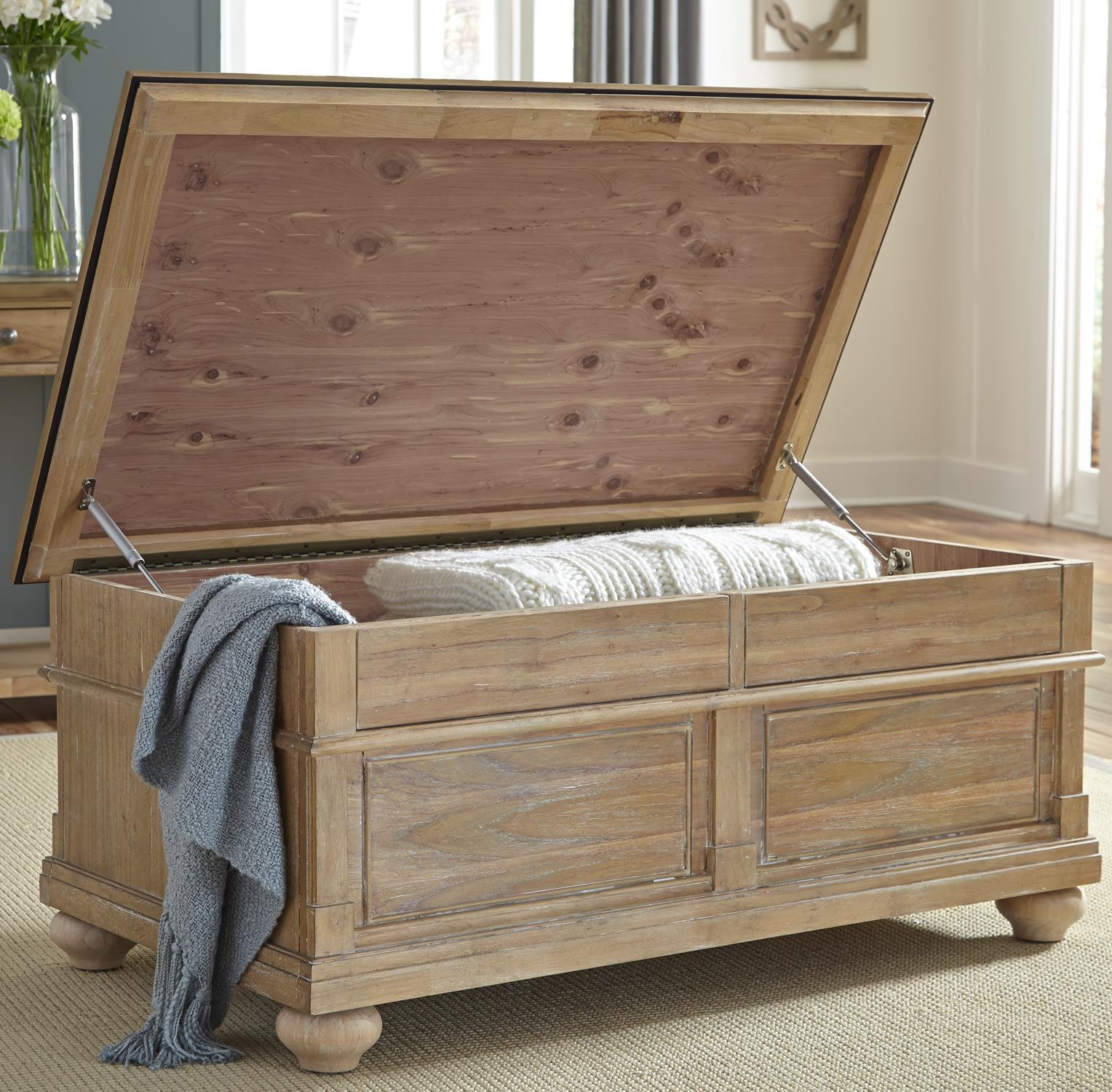 Liberty Furniture Harbor View Storage Trunk - Item Number: 531-OT1011