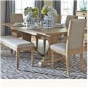 Liberty Furniture Harbor View Trestle Dining Table - Item Number: 531-T4294