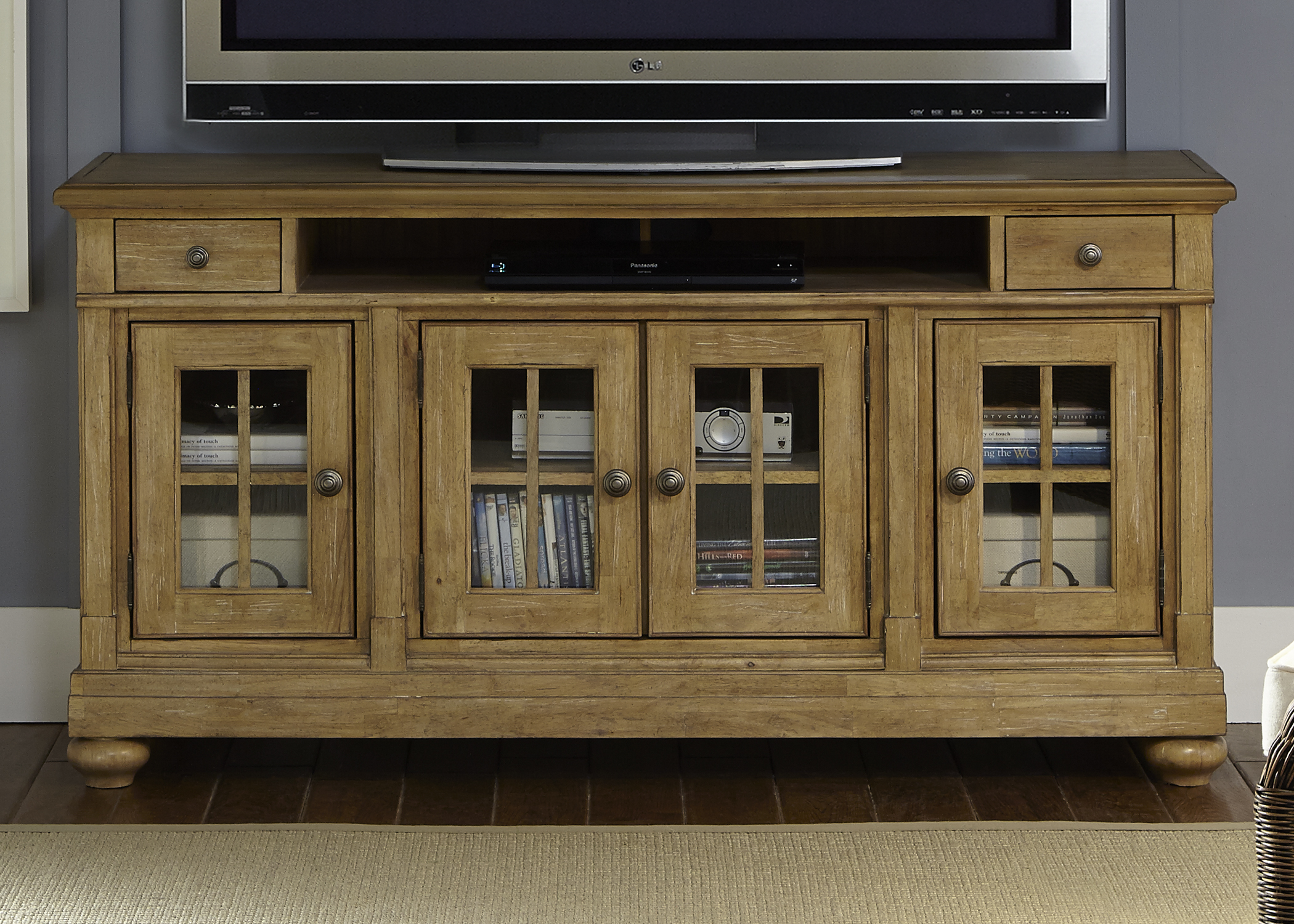"Liberty Furniture Harbor View 62"" TV Console                               - Item Number: 531-TV62"